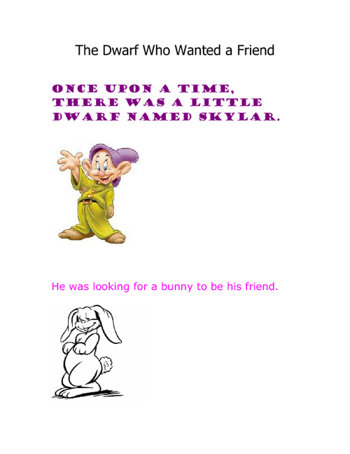 The Dwarf Who Wanted a Friend