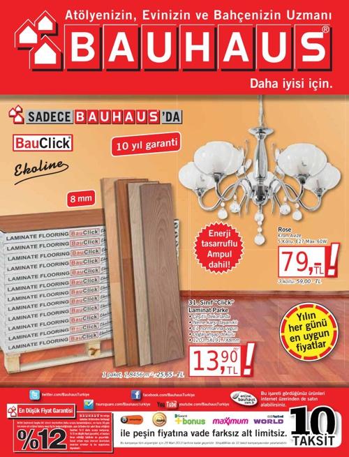 9-29 Mart 2013 Bauhaus Ürünleri Kataloğu
