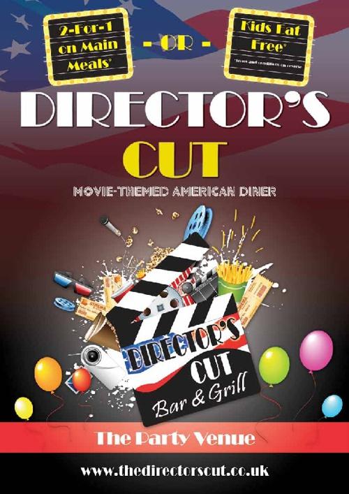 Director's Cut Main Menu
