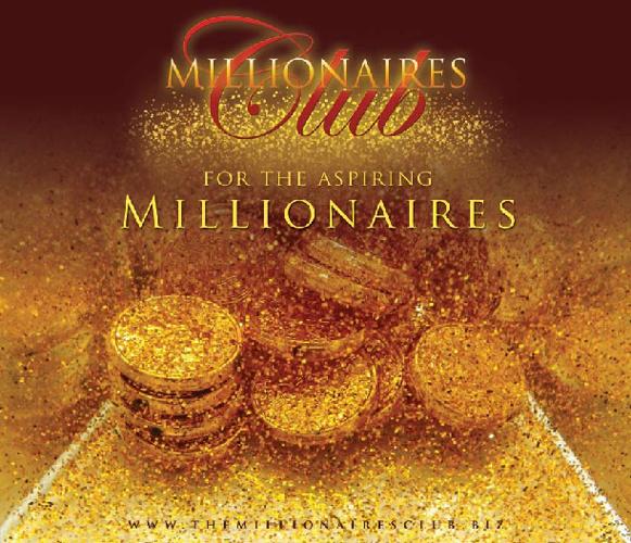 Millionaires Club - For the aspiring Millionaires - Magazine