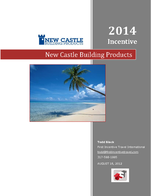 New Castle Building Products Proposal 2014