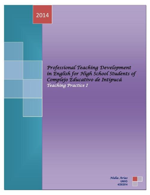 Proposal Teaching-High School