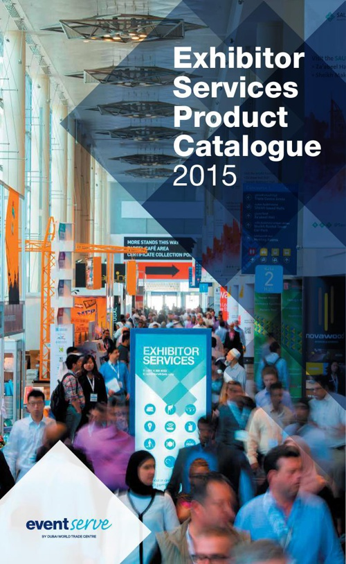 Exhibitor Services Product Catalogue 2015