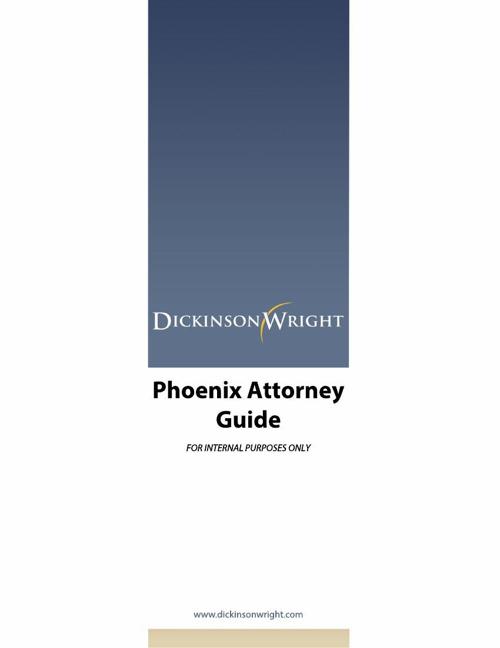 Phoenix Attorney Guide 5.14
