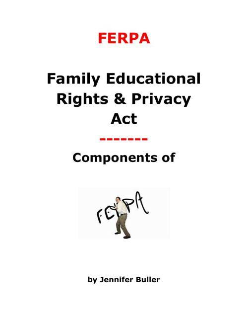 FERPA - SPED 433