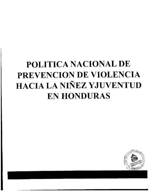 politica_prevencion_violencia_niñez_y_juventud