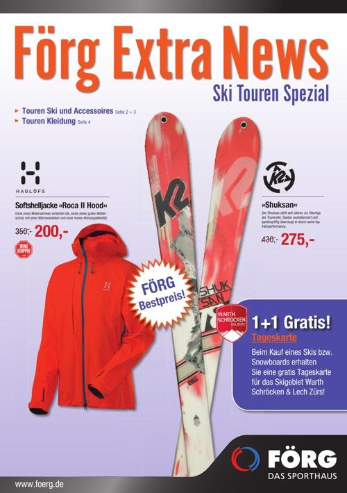Skitourenprospekt