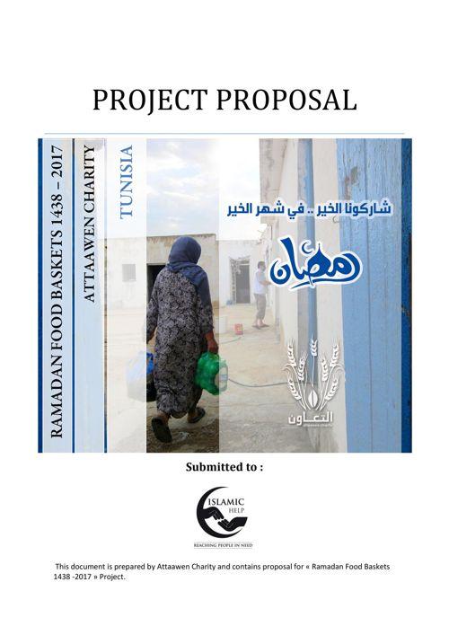 RAMADAN FOOD BASKETS 1438  2017 Proposal - Islamic Help