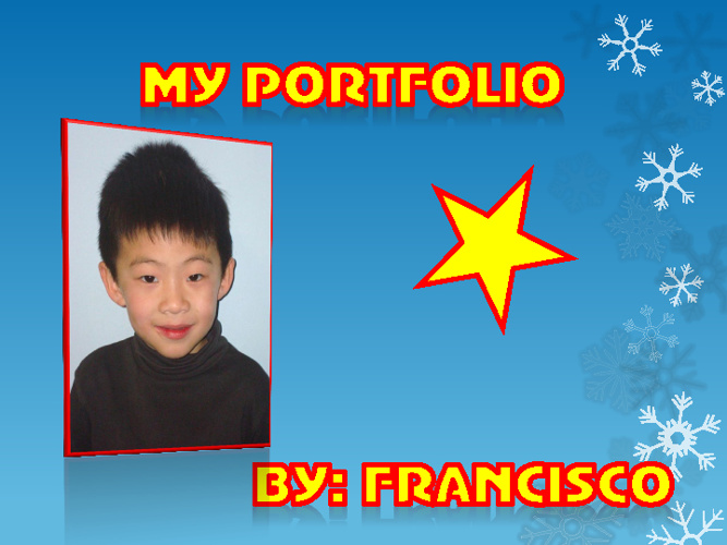Francisco's 4th Grade Portfolio