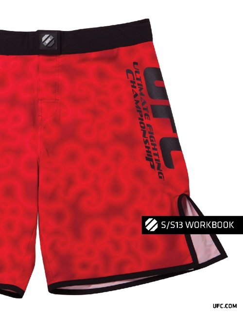 UFC SPRING/SUMMER 2013 APPAREL WORKBOOK