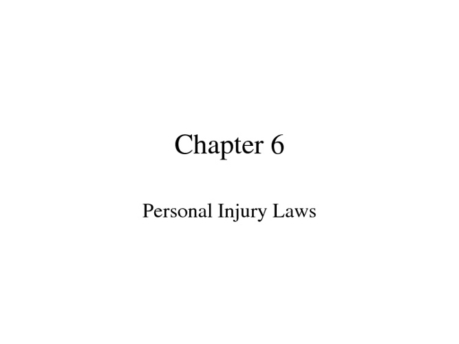 Law Chapter 6