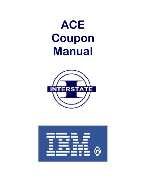 IBM ACE Coupon Flip Book