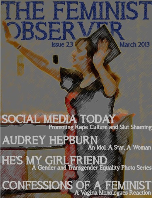 The Feminist Observer, March 2013