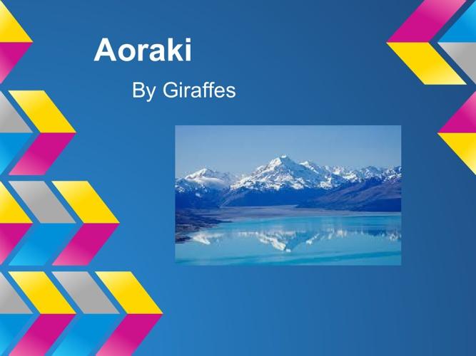 Aoraki