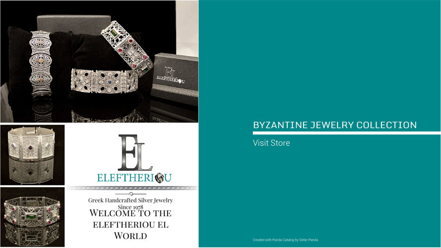 BYZANTINE JEWELRY COLLECTION 2016