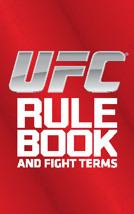 UFC Rule Book and Fight Terms