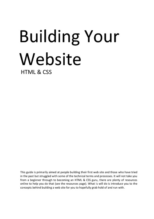 Build your first site!
