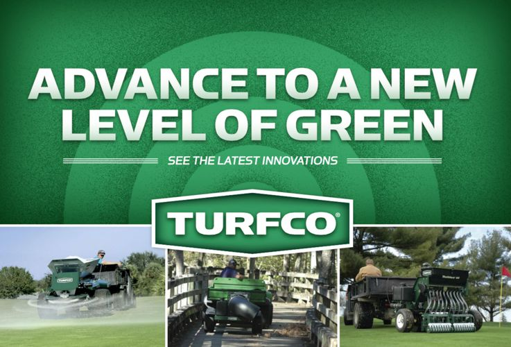 Turfco- Advance to a New Level of Green