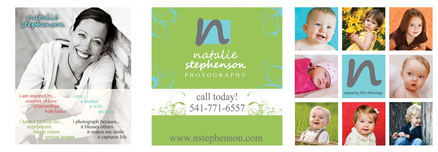 Natalie Stephenson Photography Tri-fold