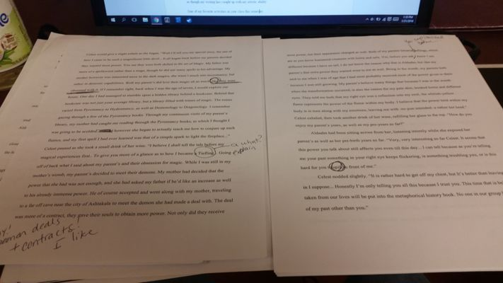 Long Fiction Rough Draft