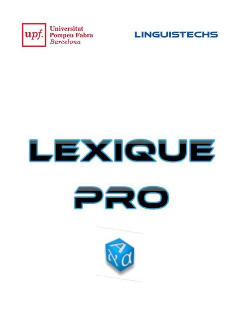 Lexique PRO - RO