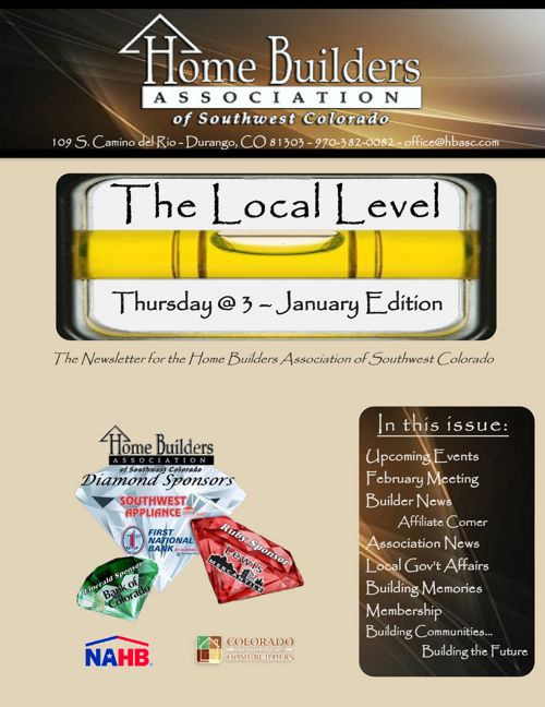Local Level ~ Thursday @ 3 January Edition