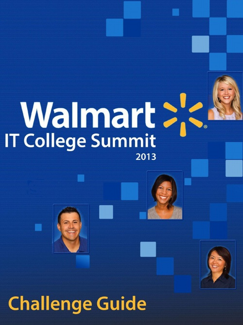 Walmart IT College Summit Challenge Guide