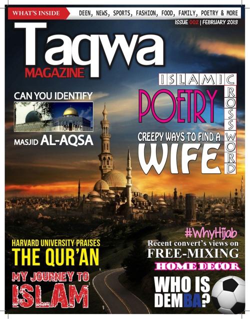 Taqwa Magazine - February