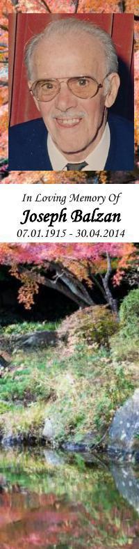 Bookmark for Joseph Balzan