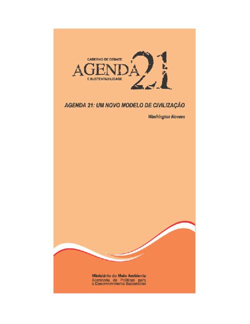 CADERNOS DE DEBATE DA AGENDA 21