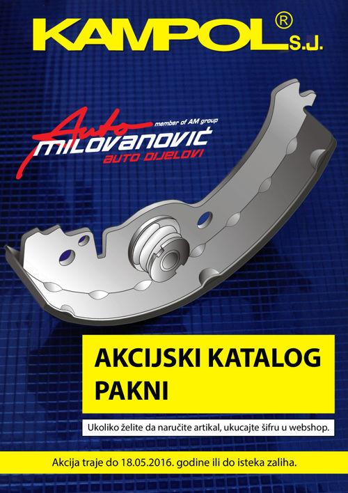 Auto Milovanovic - Akcijski katalog pakni