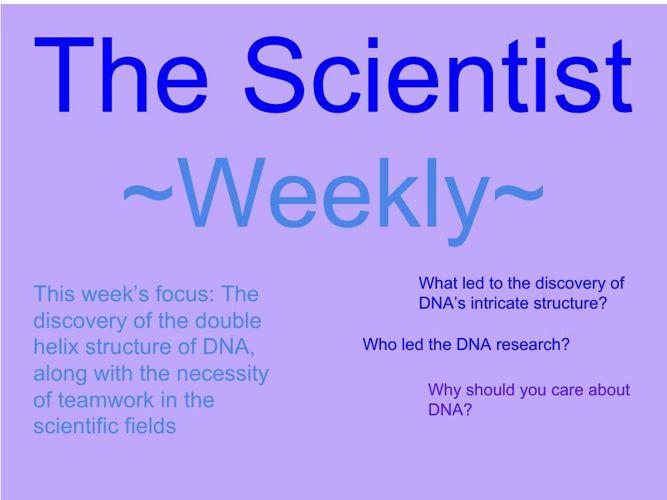 The Scientist ~Weekly~