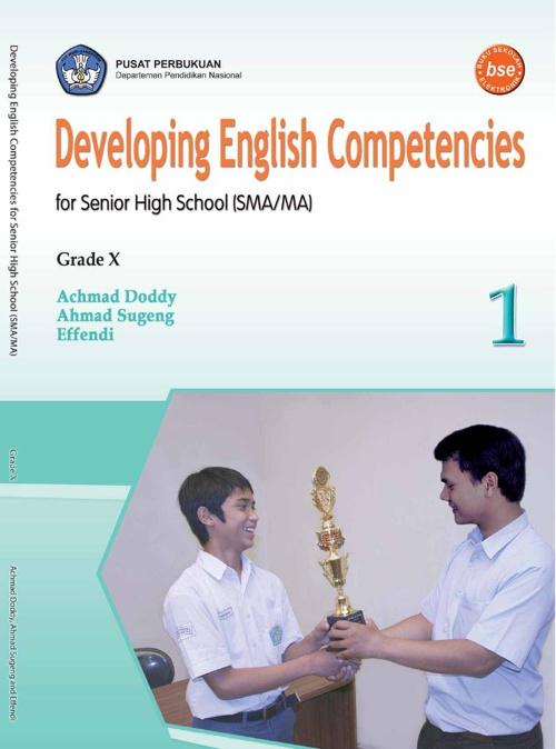 E-Book for Senior High School Grade X