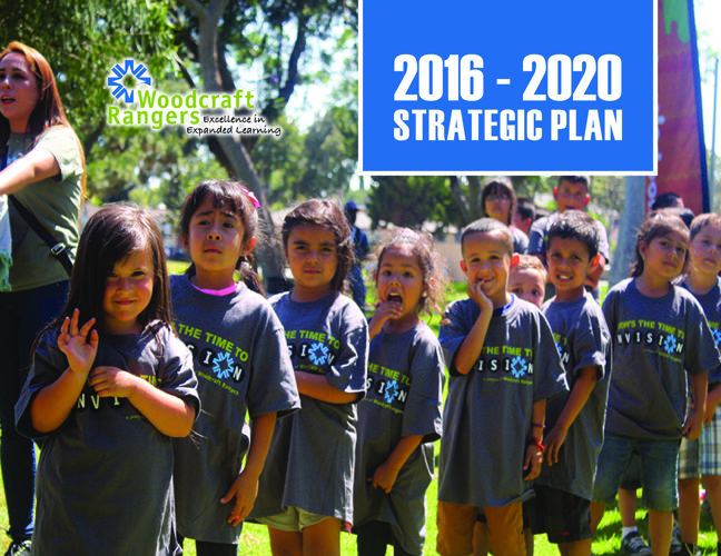 Woodcraft Rangers Strategic Plan 2016