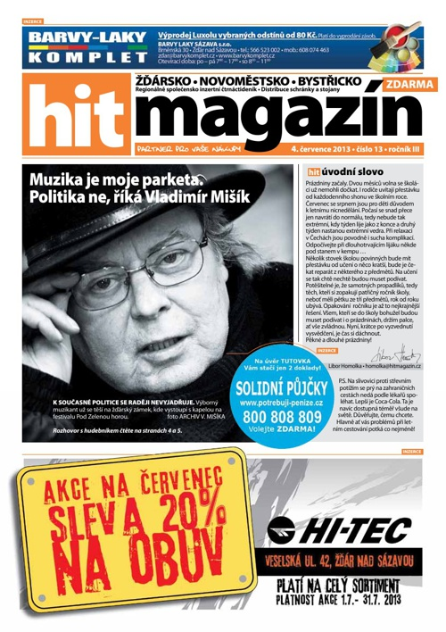 Hit magazín č.13 2013