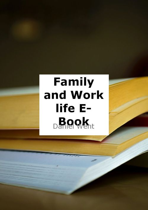 Family and Work E-Book
