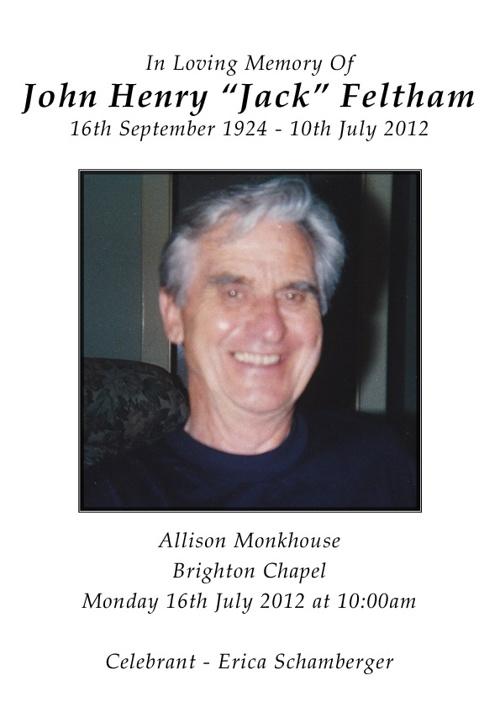 John Feltham