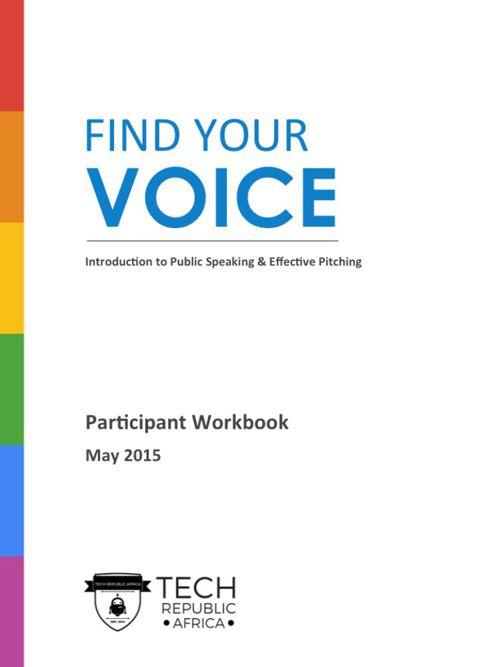 Public Speaking Workshop Manual_Tech Republic_Safaricom_FINAL