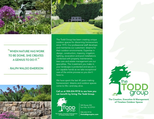 The Todd Group Trifold
