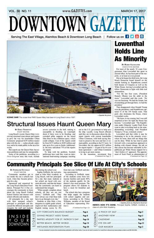 Downtown Gazette     March 17, 2017