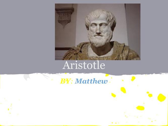 P.1 MFragodt Aristotle