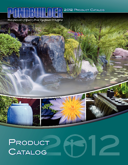 PondBuilder 2012 Product Catalog