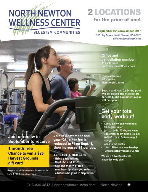 Fall 2017   North Newton Wellness Center News