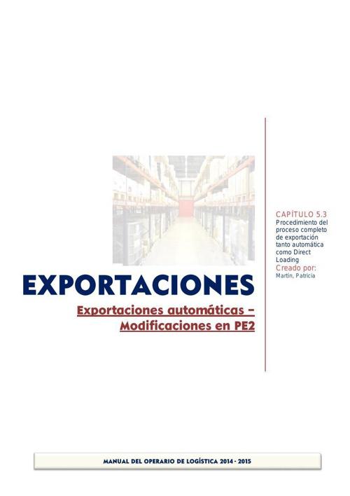 5.3_Exportaciones Modificaciones en PE2