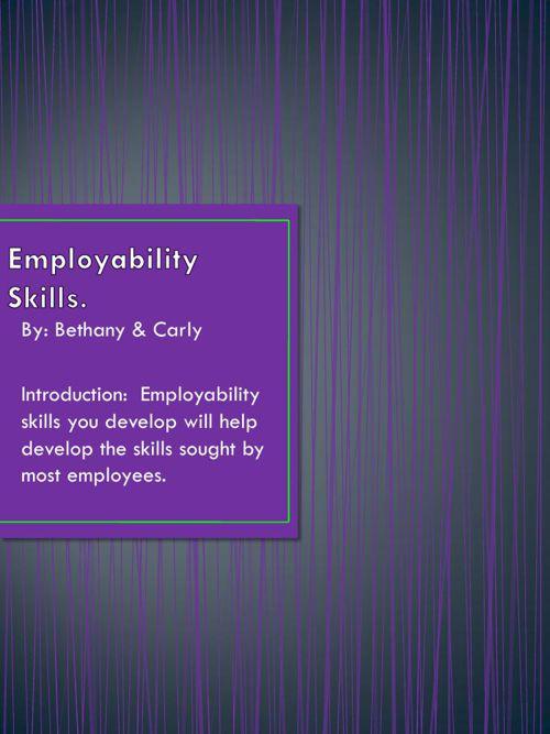 Employability Skills 2