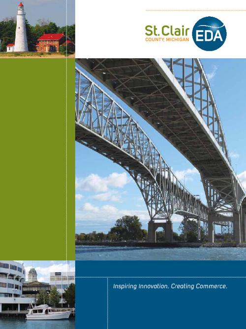 EDA's St. Clair County Marketing Brochure