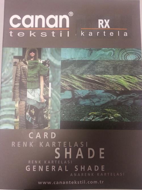 RX SHADE CARD