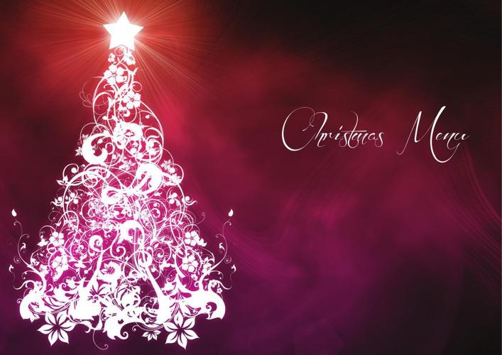 Christmas A La Carte Menu 2014