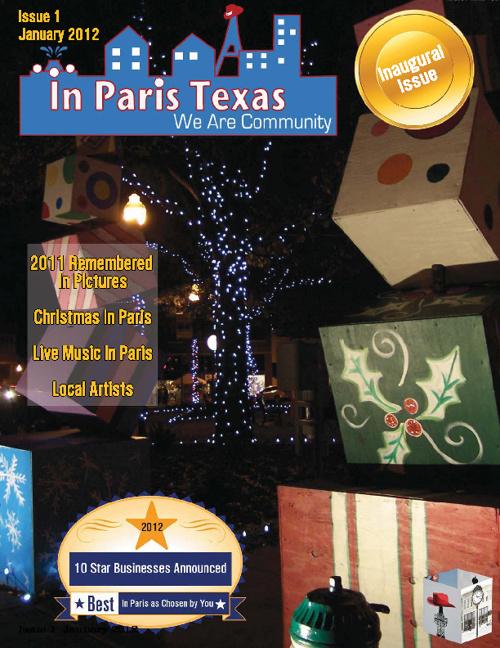 In Paris Texas Monthly Volume 1 Issue 1