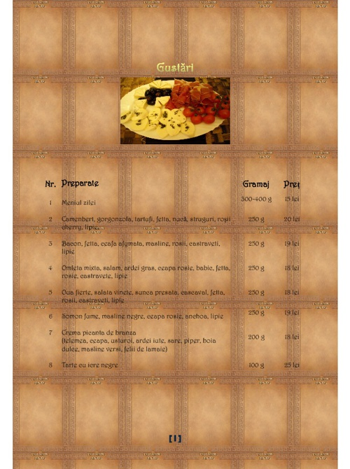 menu flip